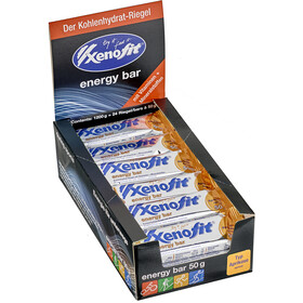 Xenofit Energy Bar Box 24 x 50g Apricot